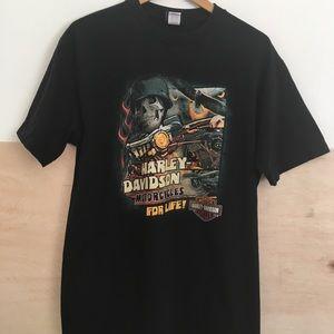 Harley Davidson New Orleans Black T-Shirt